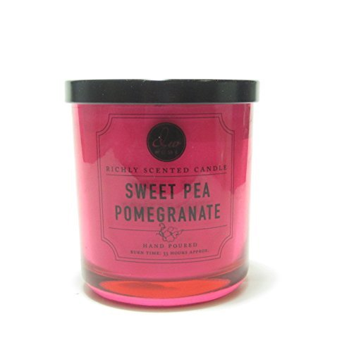 Dw Home - Decoware Richly Scented Candle, Sweet Pea Pomegranate
