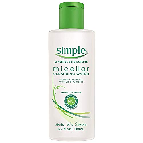 Unilever HPC - USA - Simple Micellar Cleansing Water 6.7 Ounce (198ml) (6 Pack)