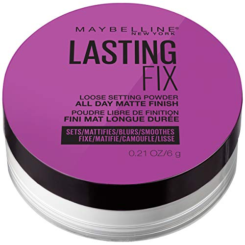 Maybelline - Maybelline New York Facestudio Master Fix Setting + Perfecting Loose Powder Makeup, Translucent, 2 Count