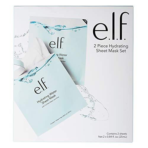 e.l.f. Hydrating Water - e.l.f. Hydrating Water Sheet Mask 0.84oz, pack of 1