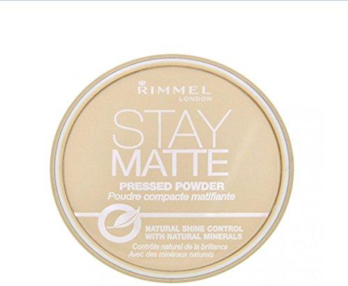 Rimmel - Rimmel London Stay Matte Pressed Powder, Sandstorm [004], 0.49 oz (Pack of 9)