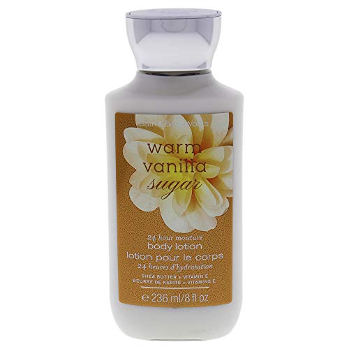 Bath & Body Works - Bath & Body Works Shea and Vitamin E Body Lotion, Warm Vanilla Sugar, 8 Ounce