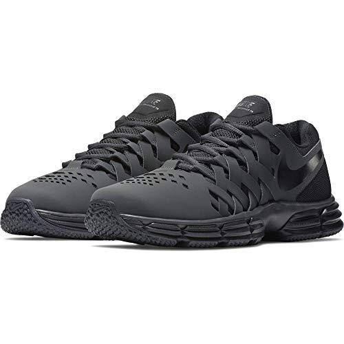 Nike - NIKE Men's Lunar Fingertrap Cross Trainer, Anthracite/Black, 11.0 Regular US