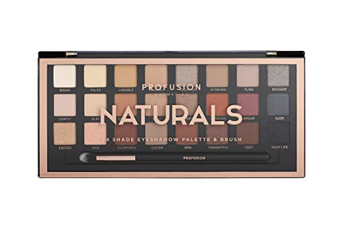 Profusion Cosmetics - Eyeshadow Palette, Natural