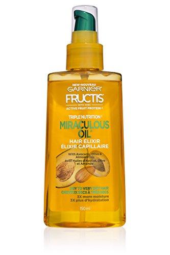 Garnier - Garnier Hair Care Fructis Triple Nutrition Marvelous Oil Hair Elixir, 5.0 fl oz.