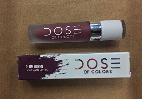 Dose of Color Liquid matte lipstick - Dose of Color Liquid matte lipstick - Plum Queen - 0.16 oz