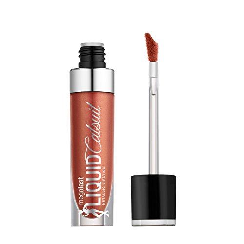 Wet N' Wild - wet n wild Megalast Liquid Catsuit Metallic Lipstick, Bali in Love, 0.21 Ounce