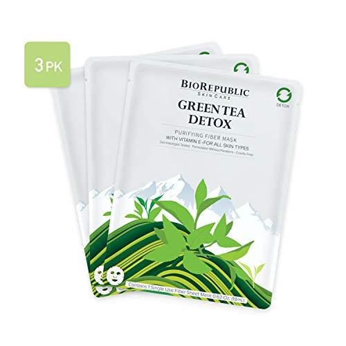 Biorepublic Skincare BioRepublic Skincare Green Tea Detox 3 Mask Set