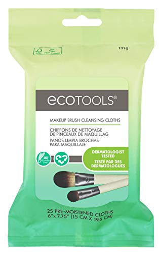 Ecotools - Ecotools Makeup Brush Cleansing Cloths, 0.46 Ounce