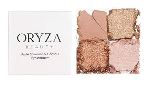 Oryza beauty - Nude Shimmer & Contour Eyeshadow Palette