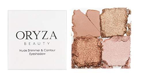 Oryza beauty - Oryza Beauty Nude Shimmer & Contour Eyeshadow Palette