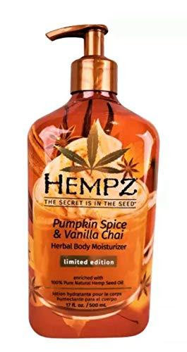 Hempz - Hempz 2020 Limited-Edition Pumpkin Spice & Vanilla Chai Herbal Body Moisturizer