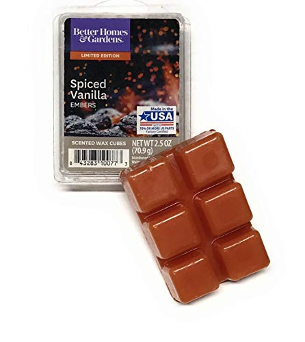 Better Homes & Gardens - Better Homes & Gardens Spiced Vanilla Embers 2018 Limited Edition Wax Cubes