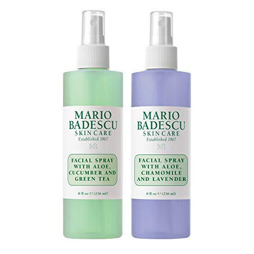 Mario Badescu - Facial Spray with Lavender and Facial Spray with Cucumber Duo