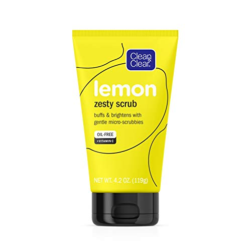 Clean & Clear - Lemon Zesty Face Scrub with Lemon Extract & Vitamin C