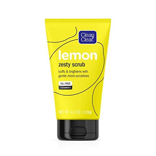 Clean & Clear - Lemon Zesty Face Scrub with Lemon Extract & Vitamin C