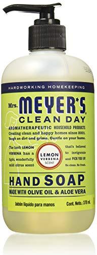 Mrs. Meyers - Mrs. Meyer's Clean Day Liquid Hand Soap, Lemon Verbena, 12.5 Ounce Bottle
