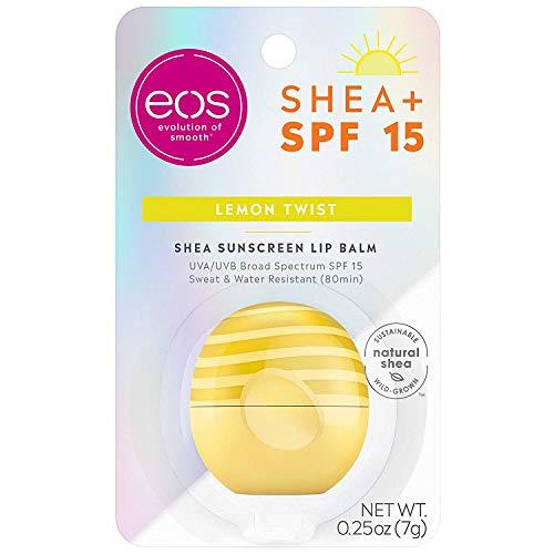 Eos - Eos Lip Balm Lemon Twist & Fresh Grapefruit Combo, Lip Balm with SPF