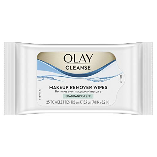 Olay - Olay Makeup Remover Wet Cloths, Fragrance Free, 25 Count