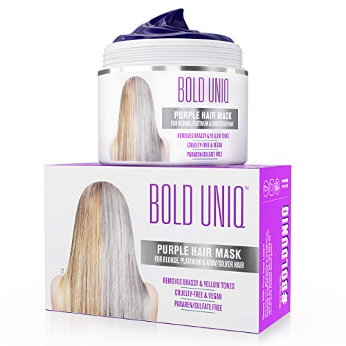 Unknown Purple Hair Mask For Blonde, Platinum & Silver Hair