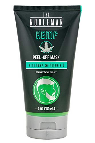 The Nobleman Men's Hemp Facial Peel-Off Mask