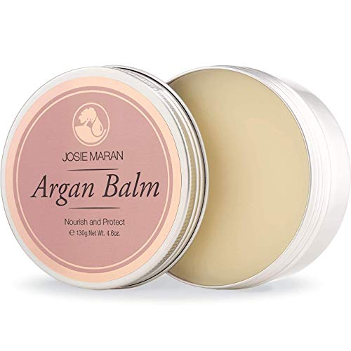Josie Maran - Josie Maran Argan Balm - Soothe and Calm Rough Skin With a Barrier of Hydrating Protection (130g/4.6oz, Vanilla Apricot)