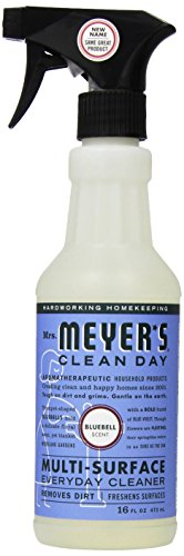 Mrs. Meyer's Clean Day - Mrs. Meyer's Clean Day Multi-Surface Everyday Cleaner, Bluebell Scent, 16 ounce bottle