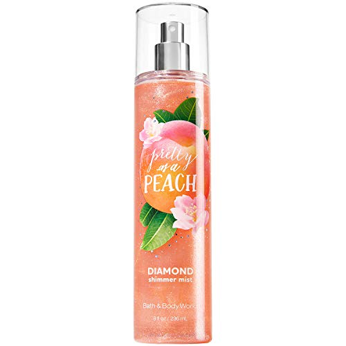 Bath & Body Works - Pretty as a Peach Diamond Shimmer Mist