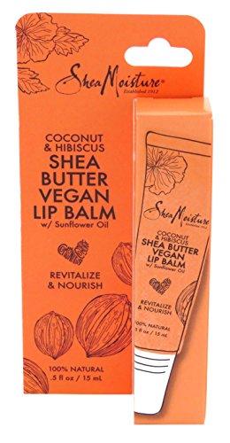 Sheamoisture - Shea Moisture Lip Balm Coconut & Hibiscus 0.5 Ounce (15ml) (3 Pack)