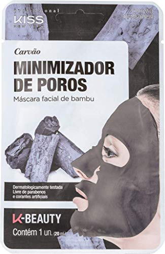 Kiss New York - Charcoal with Bamboo Pore Minimizing Sheet Mask