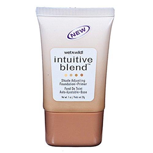 Wet N' Wild - Wet n Wild Intuitive Blend Foundation + Primer, Shade Adjusting, Tan 178, 1 oz.