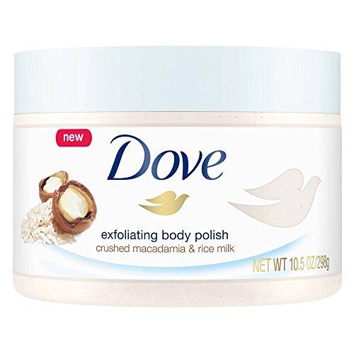 Dove - Body Polish Crushed Macadamia and Rice Milk