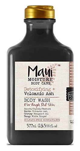Maui Moisture - Maui Moisture Body Wash Volcanic Ash 19.5 Ounce Rough Skin (577ml) (6 Pack)