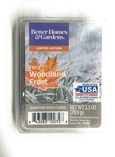 Better Homes & Gardens - Better Homes & Gardens First Woodland Frost 2018 Limited Edition Wax Cubes