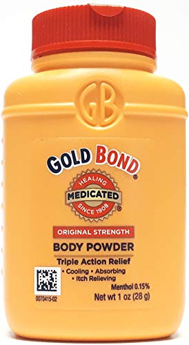 Gold Bond - Gold Bond Medicated Body Powder Original Strength 1 oz