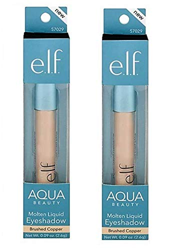 E.l.f Cosmetics - Aqua Beauty Molten Liquid Eyeshadow, Brushed Copper
