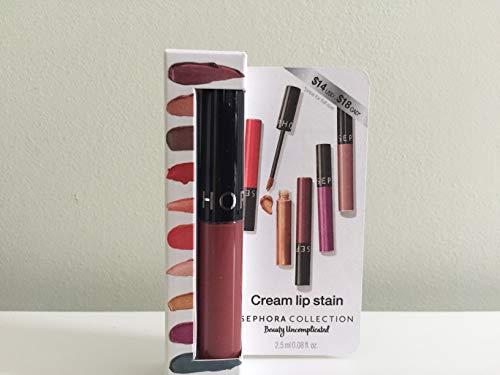 Sephora SEPHORA COLLECTION Cream Lip Stain Liquid Lipstick Mini, 84 Rose Redux - new shade