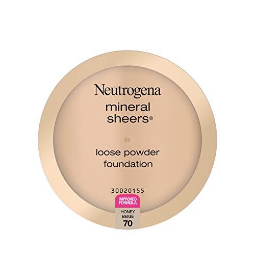 Neutrogena - Neutrogena Mineral Sheers Loose Powder Foundation, Honey Beige 70, .19 Oz.