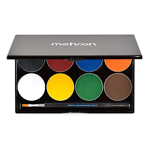Mehron - Makeup Paradise AQ Face & Body Paint 8 Color Palette
