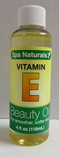 Spa Naturals - Spa Naturals Vitamin E Beauty Oil 4 oz
