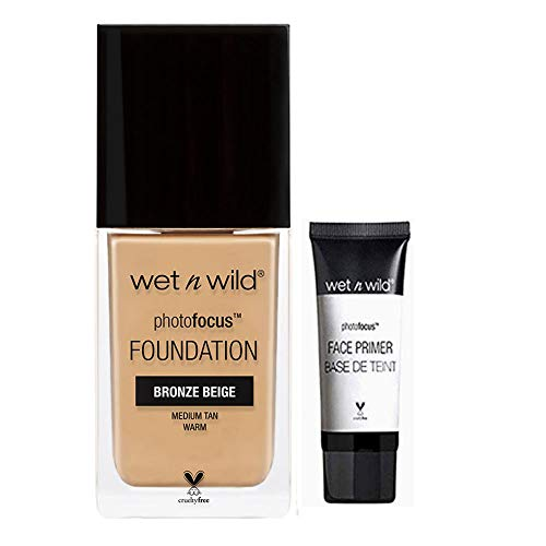 Wet Wild - Wet Wild Photo Focus Foundation Bonus Free Mini Primer (Nude Ivory 363C)
