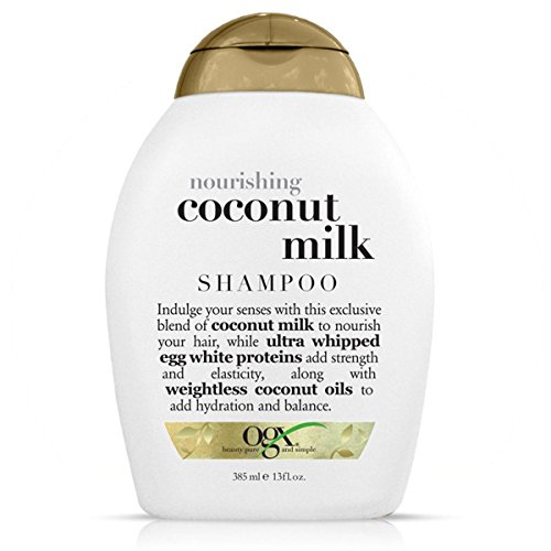 Ogx - Ogx Shampoo Coconut Milk Nourishing 13 Ounce (384ml)
