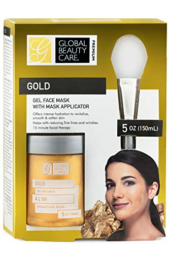 Global beauty care premium - Gold: Gel Face Mask with Applicator