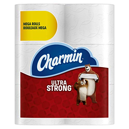 Charmin - Charmin Ultra Strong Mega Roll Toilet Paper, 24 Count