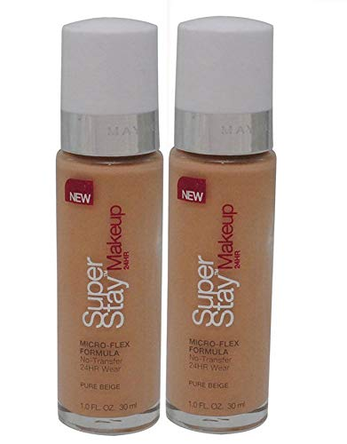 Maybelline - Maybelline New York Super Stay 24Hr Makeup, Pure Beige, 1 Fluid Ounce
