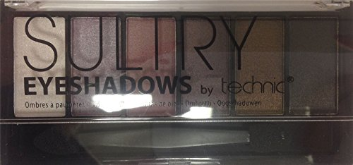 Technic - Technic Sultry 6 Colour Eyeshadow Palette - Mulberry by BadgeQuo