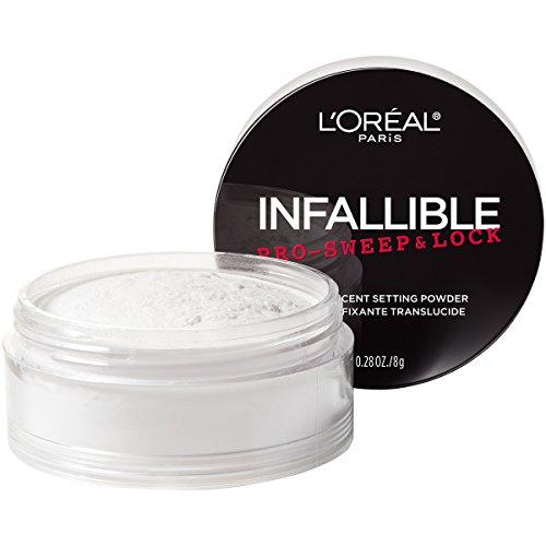 L'Oreal Paris - L'Oreal Paris Makeup Infallible Pro-Sweep & Lock Loose Matte Setting Face Powder, Translucent, 0.28 oz.