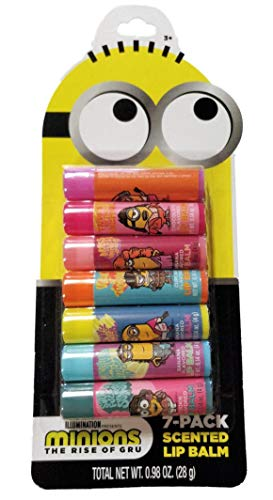 Centric Beauty - Minions The Rise of Gru 7-Pack Scented Lip Balms