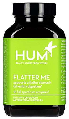 Hum Nutrition - HUM Nutrition - Flatter Me - Digestive Enzymes, 60 Capsules