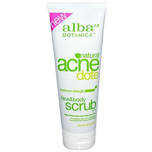 Alba Botanica - Alba Botanica Natural Acnedote Face And Body Scrub - 8 Fl Oz